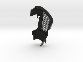 FZX carb cover LH in Black Natural Versatile Plastic