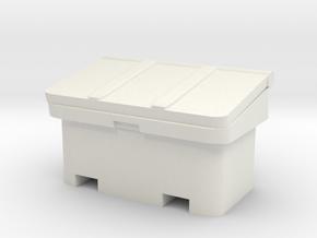 Large SOS Sand Bin 1/48 in White Natural Versatile Plastic