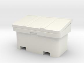 Large SOS Sand Bin 1/12 in White Natural Versatile Plastic