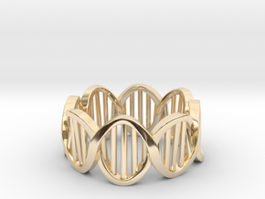 DNA Ring (Size 11) in 14K Yellow Gold