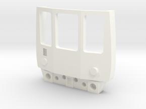 OO Gauge Class 104 Cab in White Processed Versatile Plastic