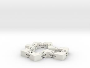 Gelenkwürfel in White Strong & Flexible