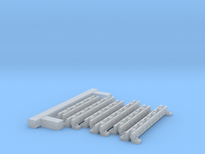 Transfer Beams 1-48 for PR in Smooth Fine Detail Plastic