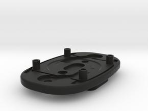 Chest strap back cover in Black Natural Versatile Plastic