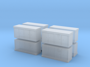 Kitchen Counter (x8) 1/160 in Smooth Fine Detail Plastic