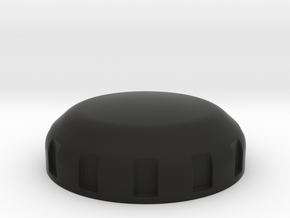 FZX fork top cover in Black Natural Versatile Plastic