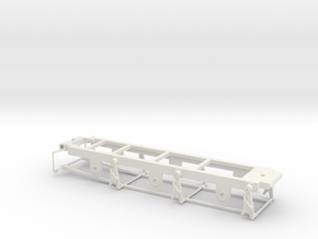 Gauge 3 - 812 Tender Chassis in White Natural Versatile Plastic