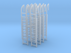 Roof Ladder (x8) 1/100 in Smooth Fine Detail Plastic