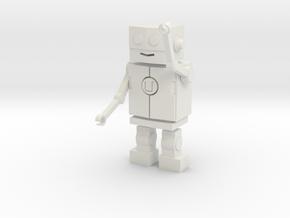 Udacity Robot in White Natural Versatile Plastic