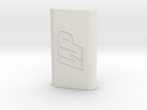 WP racing esc cable clip  in White Natural Versatile Plastic
