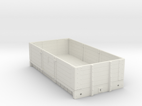 7mm - MR D299 - 5 Plank Open - WSF in White Natural Versatile Plastic