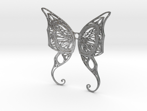 Butterfly Wings- Alternate version in Natural Silver