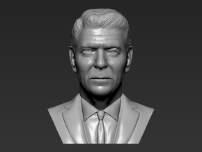 Ronald Reagan bust in White Natural Versatile Plastic