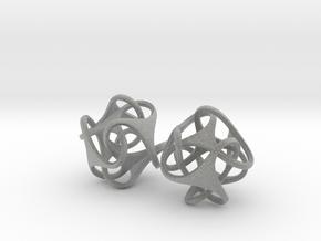 Tetron earrings in Metallic Plastic