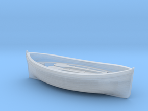 400th scale lifeboat in Smooth Fine Detail Plastic
