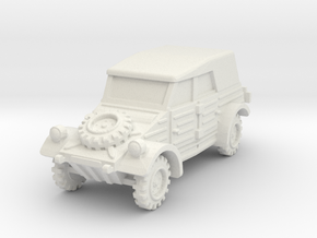 Kubelwagen (covered) 1/64 in White Natural Versatile Plastic