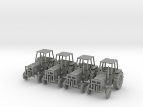 Farm Tractor Ver01. 1:160 Scale (N) in Gray PA12