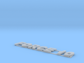 Force 10 Sign in Smooth Fine Detail Plastic