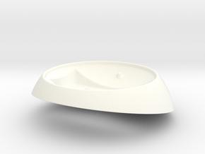 EI Stat Pedestal (MK1) in White Processed Versatile Plastic