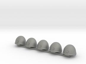 5 x Russian Helmets in Gray PA12