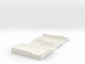 Skatepark 1/120 in White Natural Versatile Plastic
