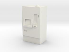 ATM Machine 1/64 in White Natural Versatile Plastic