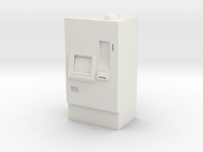 ATM Machine 1/48 in White Natural Versatile Plastic