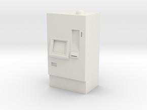 ATM Machine 1/24 in White Natural Versatile Plastic
