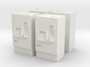 ATM Machine (x4) 1/120 in White Natural Versatile Plastic