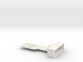 The Grid in White Natural Versatile Plastic