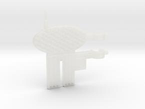 MOTUC Castle Grayskull Flagpole Antenna in Smooth Fine Detail Plastic