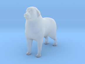 S Scale Great Pyrenees in Smooth Fine Detail Plastic
