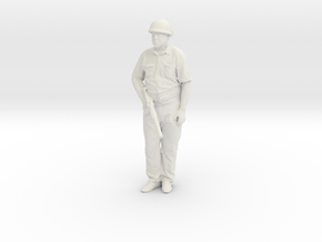 Printle H Homme 040 - 1/32 - wob in White Natural Versatile Plastic
