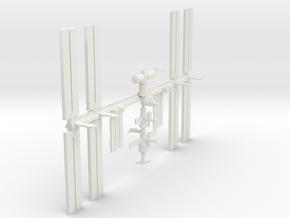 1/350 NASA International Space Station ISS in White Natural Versatile Plastic