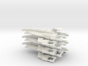 Nomad-D 50mm Squadron (3) in White Natural Versatile Plastic