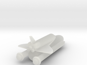 1/1000 NASA Space Shuttle FUD in Smooth Fine Detail Plastic