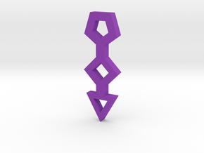 gmtrx lawal basic polygons symbol  in Purple Processed Versatile Plastic