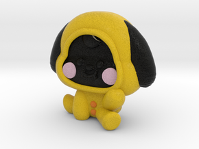 Baby Chimmy  in Natural Full Color Sandstone: Small