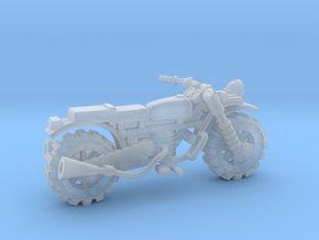 28mm crude motorbike model 1 in Smooth Fine Detail Plastic