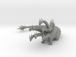 Orochi eight headed dragon 80mm kaiju monster mini in Gray PA12