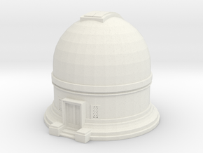 Observatory 1/120 in White Natural Versatile Plastic