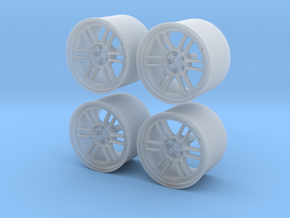 Enkei RPF1 17 Pack 1/24 in Smooth Fine Detail Plastic