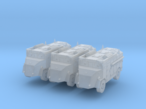 AEC Dorchester 4x4 Max (x3) 1/220 in Smooth Fine Detail Plastic