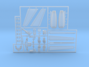 G550-144Scale-Detailed-06-PartsFret in Smooth Fine Detail Plastic
