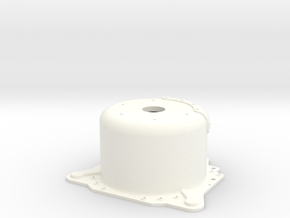"1/12 Lenco 9.4"" Dp Bellhousing (No Starter Mnt) in White Strong & Flexible Polished"
