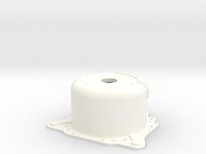 "1/12 Lenco 8.625"" Dp Bellhousing (No Starter Mnt) in White Strong & Flexible Polished"