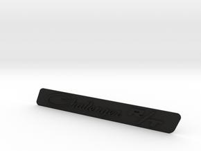Challenger RT Classic Badge in Black Natural Versatile Plastic