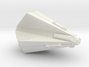 3788 Scale Tholian X-Ship Destroyer (DDX) SRZ in White Natural Versatile Plastic