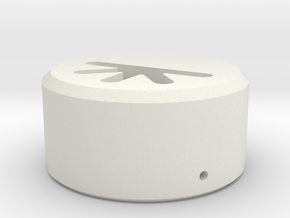 Regional Manager - Neopixel Holder  TCSS-Style -   in White Natural Versatile Plastic