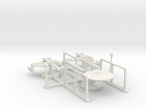 7000 Scale Tournament Cruisers  1 (F, K, R) WEM in White Natural Versatile Plastic